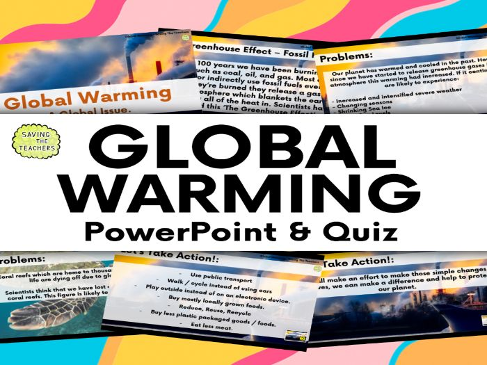 Global Warming PowerPoint and Quiz
