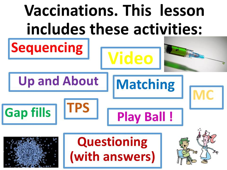 Vaccinations, immunity and Edward Jenner. Complete KS3 Biology lesson.