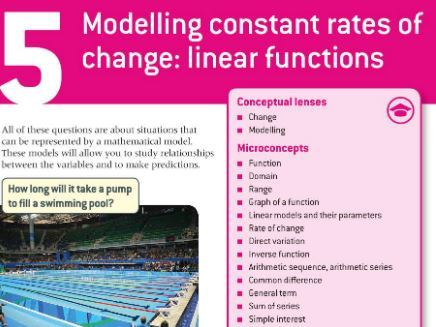 IB Maths Applications and Interpretation SL: Chapter 5 - Modelling Constant Rates of Change