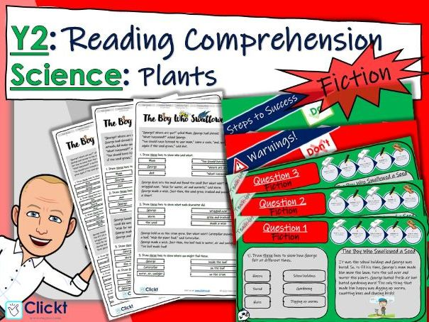 Year 2 Reading Comprehension (FICTION): Science: Plants
