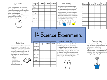 14 Science Experiments