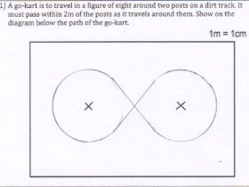 GCSE Maths - NEW - 10 Loci and Construction questions and answers