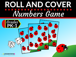 Roll and Cover Numbers Game