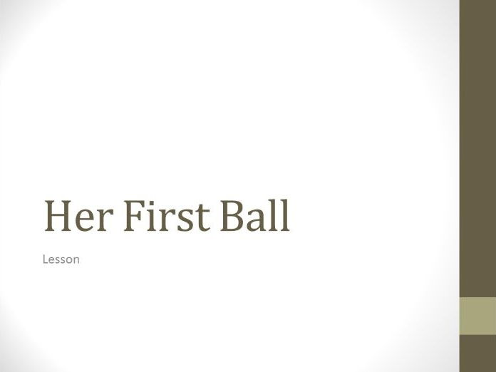 her first ball stories of ourselves