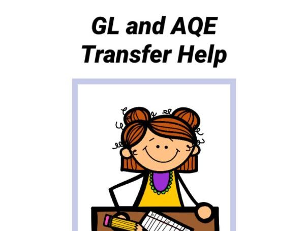 GL AQE 11plus Transfer Help - Triangles