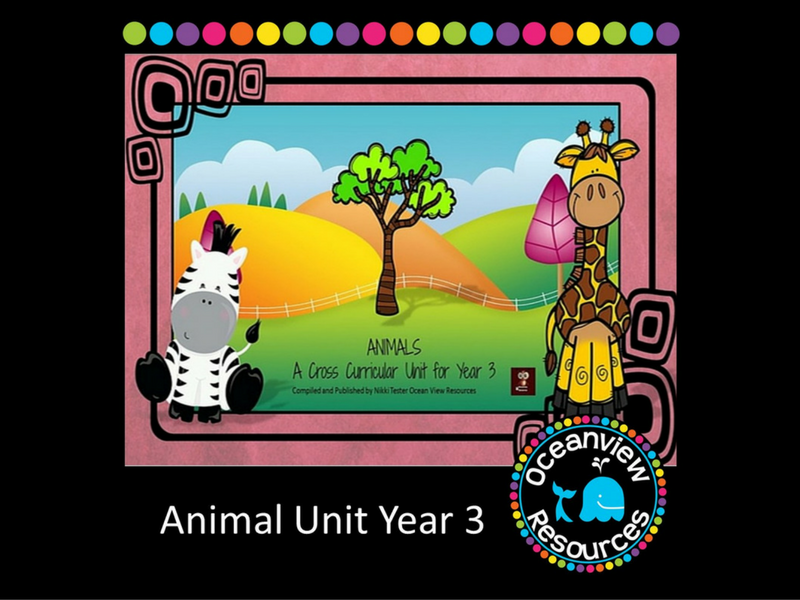 Animals- A cross curricular unit of work for year 3