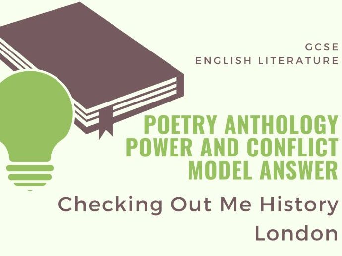 Model Answer: Comparing London and Checking out Me History