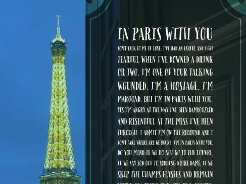 Poetry In Paris With You