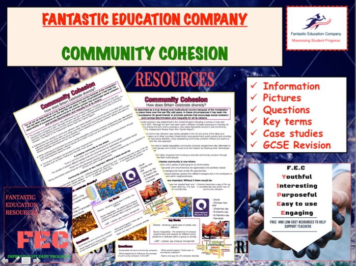 Community Cohesion Teaching Handout Revision Map