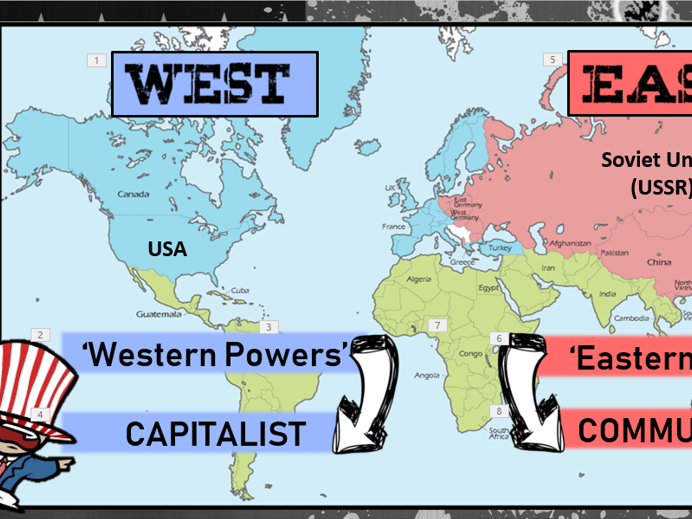 GCSE History Edexcel 1-9 Superpowers & Cold War: Introduction Lesson