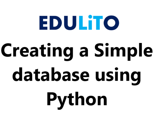 Python Programming - Make a Database