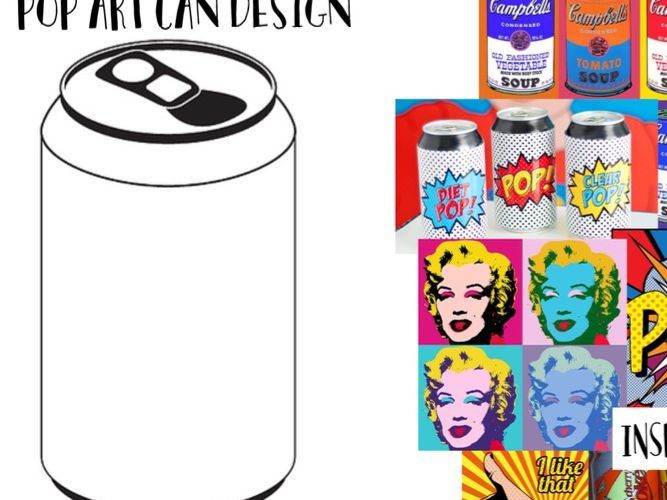 pop art cover lesson (can design)