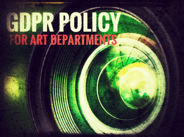ART and Photography. GDPR Policy for use of photographic images.