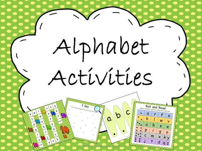 Alphabet Games and Resources