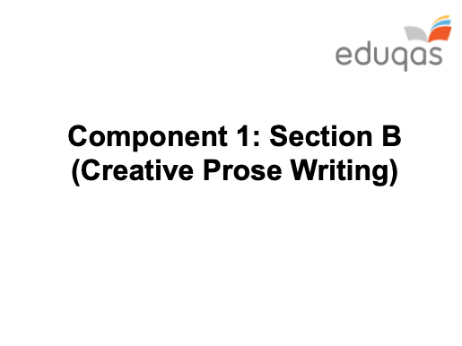 Creative Writing - GCSE Eduqas - KS4