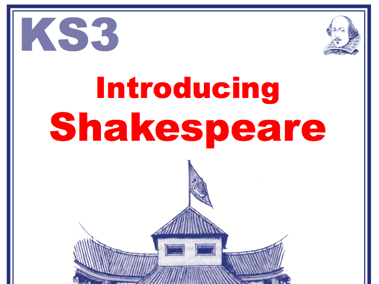 KS3 Introducing Shakespeare Scheme of Work