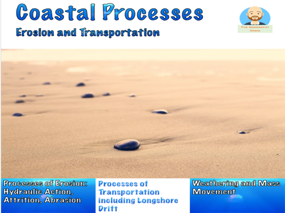 Coastal Processes- Erosion and Transportation