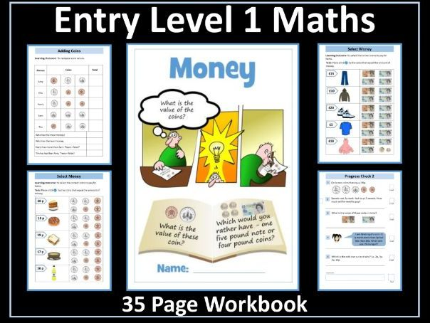 Money: AQA Entry Level 1 Maths