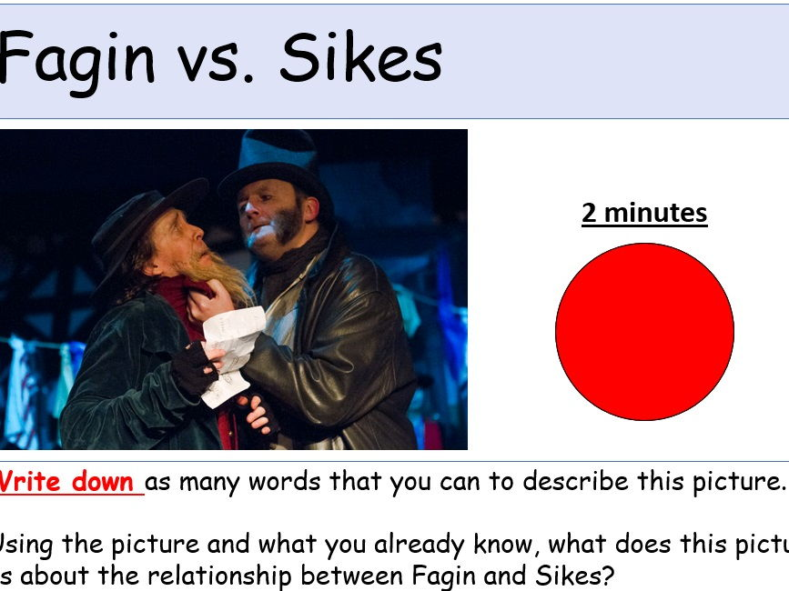 Oliver Twist Scheme of Work for KS2/KS3/EAL/ESL