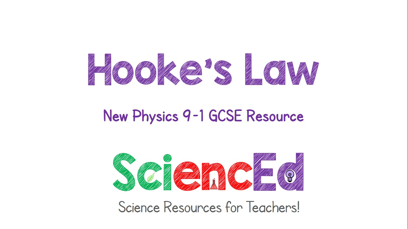 Hookes Law  by SciencEd