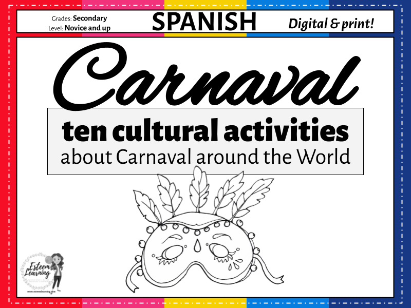 Carnaval - Ten Cultural Activities about Spanish Carnival