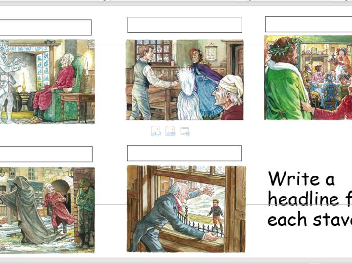 Christmas Carol revision/mastery lessons