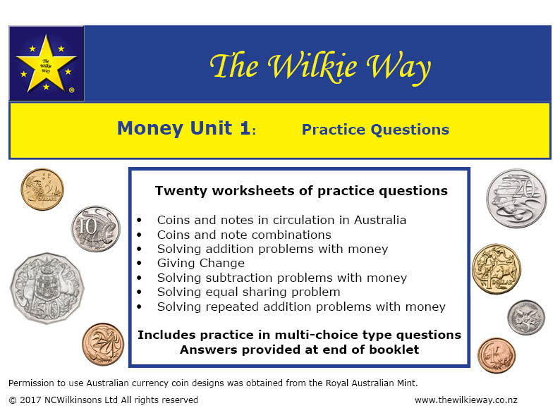 Wilkie Way Numeracy Resources Teaching Resources TES – Money Practice Worksheets