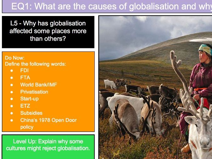 Globalisation Varying Rates - L5