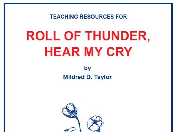 Roll of Thunder, Hear My Cry Scheme of Work