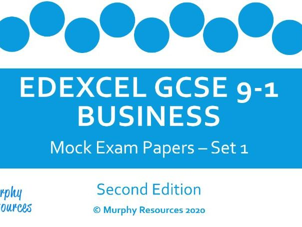 GCSE Business Mock Exam Papers for Edexcel (Sample) - Second Edition