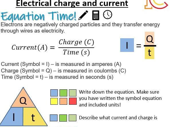 Electricity 02 - Electrical Charge and Current AQA New Physics 9-1