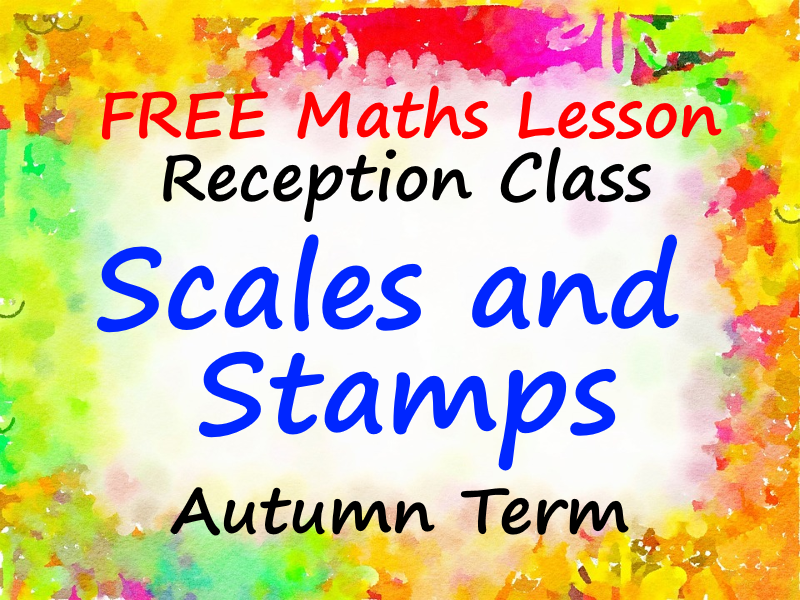 FREE Reception Maths PowerPoint - Scales and Stamps - Autumn