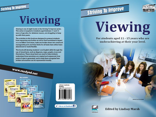 Striving to Improve Series: Viewing (Australian E-book for students at risk)
