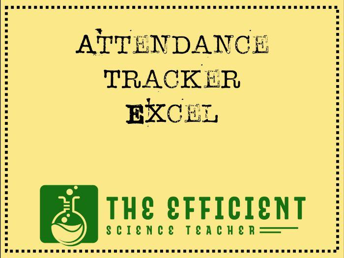 Attendance Tracker - Excel