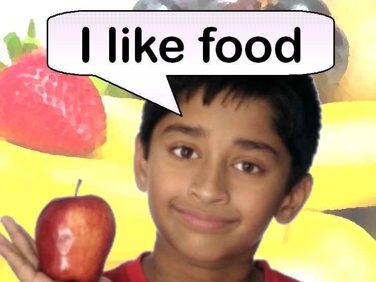 I Like Food (Rhyming picture book)