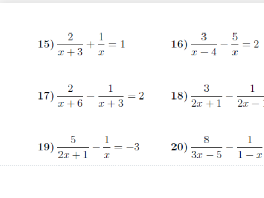 Equations-linear, quadratic and simultaneous worksheets (with solutions)
