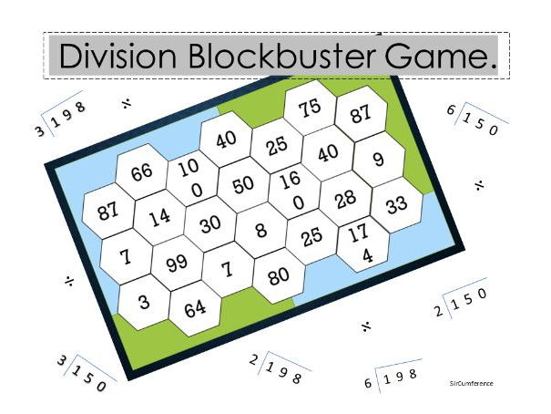 Division Blockbuster game