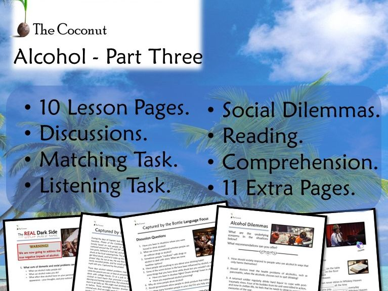 Alcohol - Part Three - The Dark Side of Alcohol