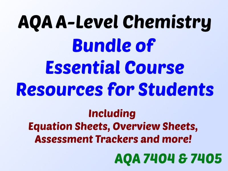 AQA A-Level Chemistry Essential Resources for Students