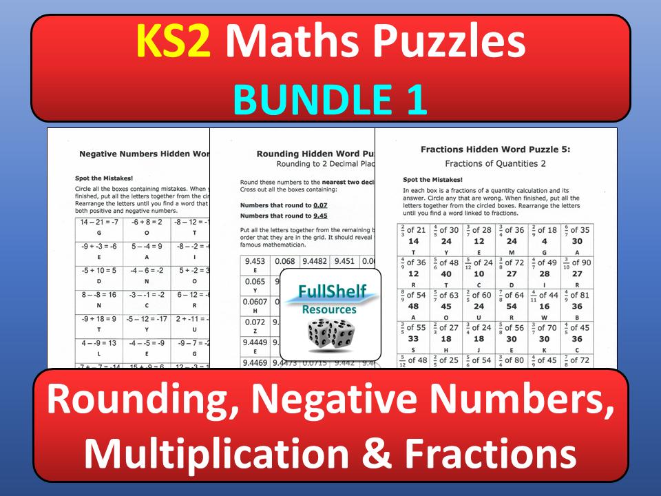 Maths Puzzles 1