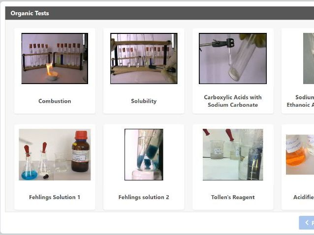 Organic Chemistry Tests