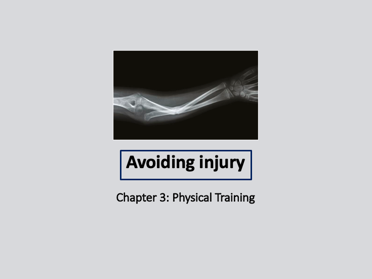 GCSE 9-1 PE - Avoiding Injury lesson