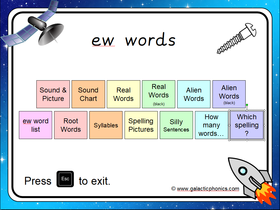 The 'ew' PowerPoint