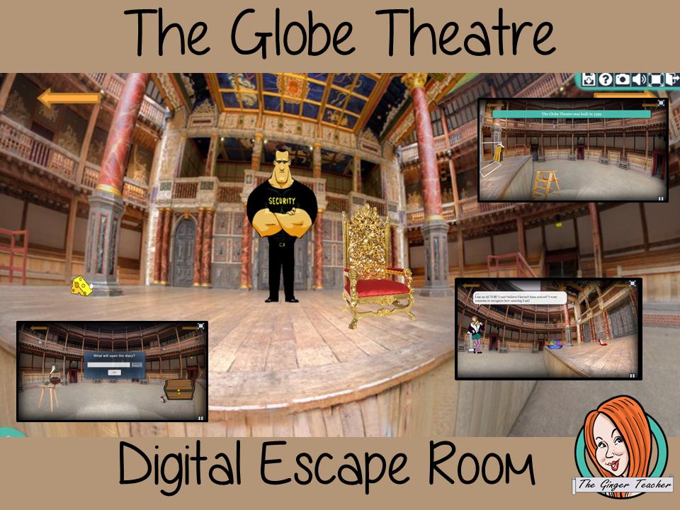Shakespeare's Globe Theatre Escape Room