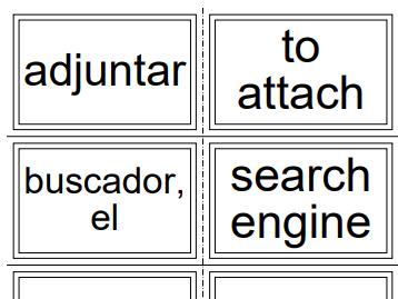 GCSE Spanish Flashcards ALL AQA Vocabulary