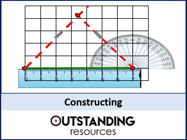 Construction - Constructing Triangles (+ worksheet)