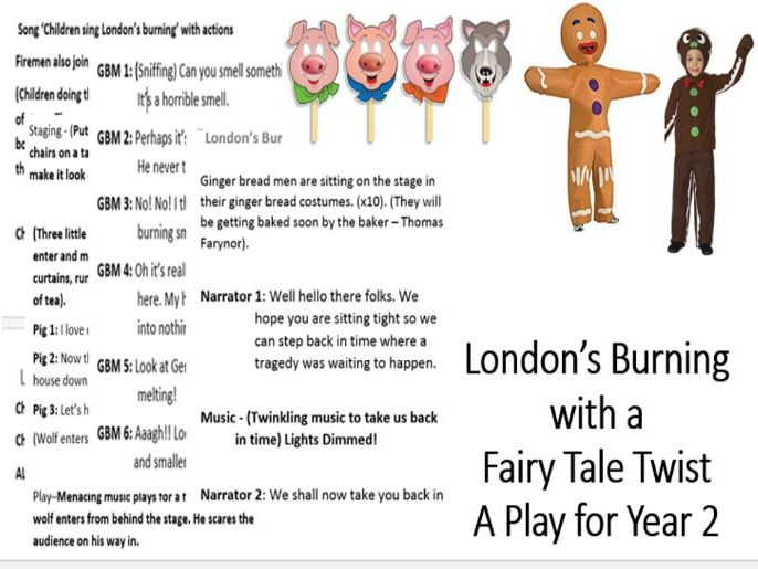 Great Fire of London A play for year 2
