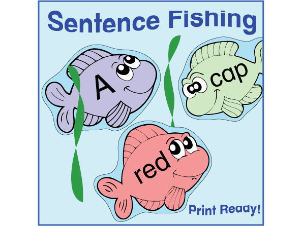 ESL Games - Sentence Fishing