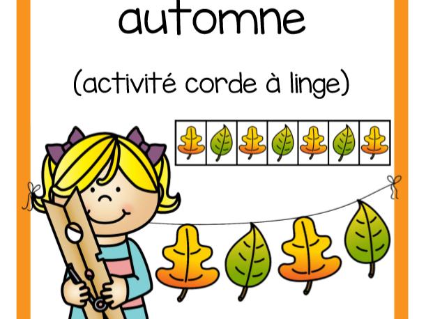 Régularités automne (Autumn Patterns)