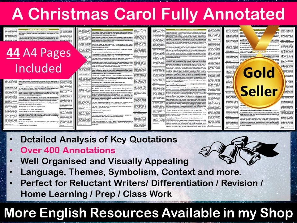 A Christmas Carol Fully Annotated
